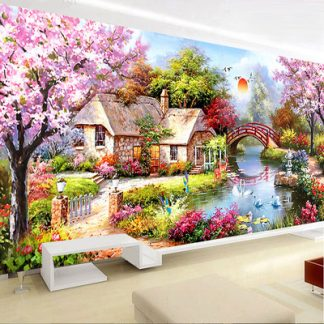 DIY Diamond Painting Full. Pemandangan style eropa