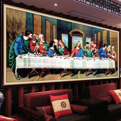 DIY Diamond painting 5D. Perjamuan Kudus last Supper