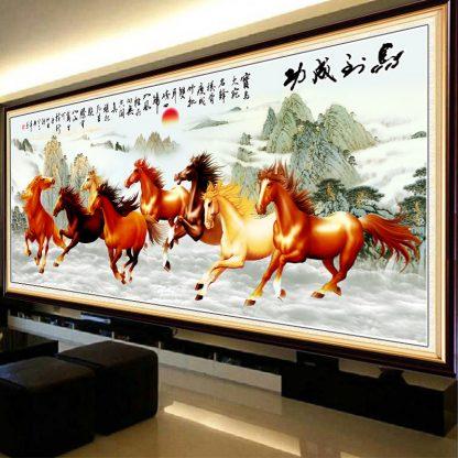 8 kuda berhasil